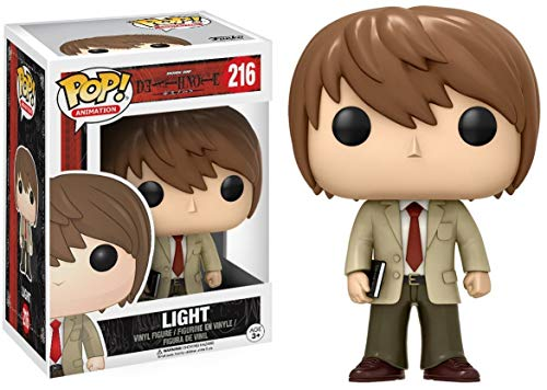 Funko Pop!- Light Figura de Vinilo, seria Death Note (6364)