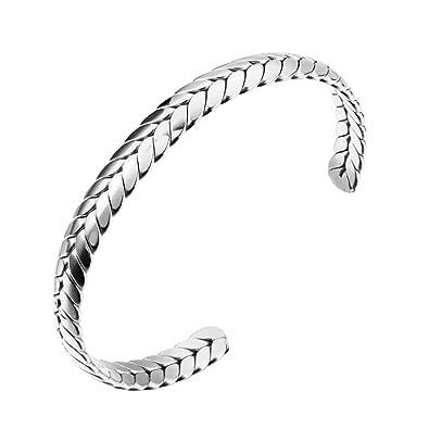 Amazon.com: jovo Amor joyas, pulsera de acero inoxidable ...