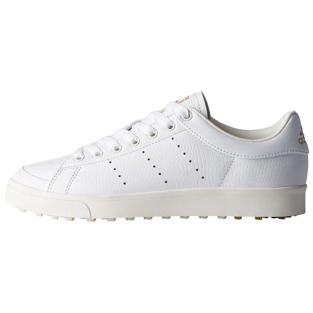 adidas Damen W Adicross Classic-Leather Golfschuhe, Silber (Plata DA9230), 37 1/3 EU