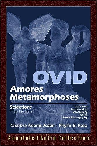 Amazon.com: Ovid: Amores Metamorphoses (English and Latin ...