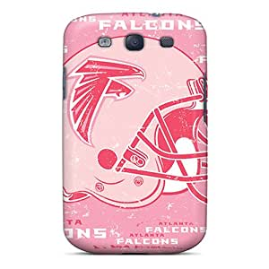 Scratch Resistant Cell-phone Hard Covers For Samsung Galaxy S3 With Allow Personal Design High Resolution Atlanta Falcons Pictures KimberleyBoyes