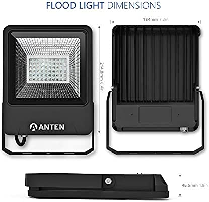 Anten 30W Proyectores LED RGB 16 Colores 4 Modos Regulables ...