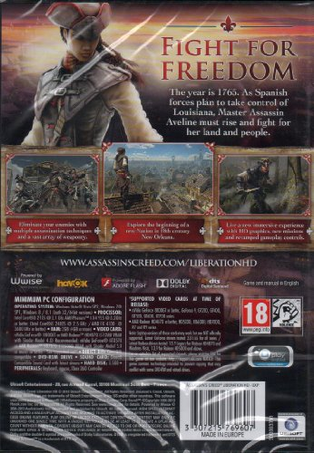 Assassin's Creed Liberation HD (PC DVD)