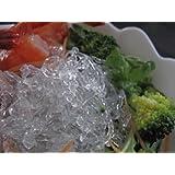 海藻から抽出したアルギン酸ナトリウムで作った海藻麺シークリスタル 500g(冷蔵出荷)