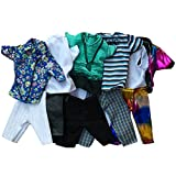 Fashion Casual Wear Doll Clothes Tops Pants Outfit for Barbies Boy Friend Ken Doll