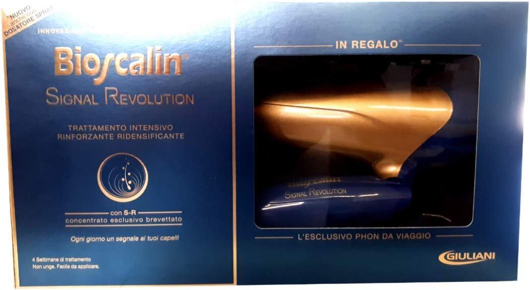 Bioscalin Cofanetto Signal Revolution Trattamento Intensivo + Phon Da Viaggio: Amazon.es: Belleza