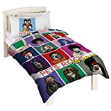 Pets Rock Childrens/Kids More Fun Than Fame Duvet Cover Bedding Set (Twin) (Multicolored)