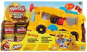 Play Doh - Super camión con grúa electrónica (Hasbro 49365)