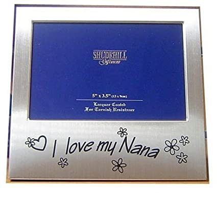 Amazoncom Shudehill Giftware I Love My Nana Photo Frame 5 X 35