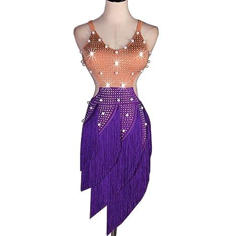 Profesional Competencia Latina de Vestidos de Baile para Mujer ...