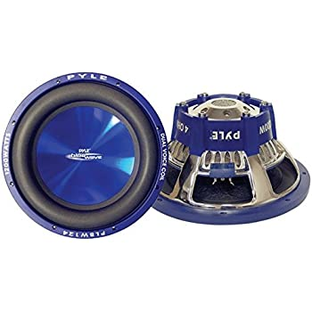 Pyle PLBW84 Blue Wave 8-Inch 600-Watt High-powered Subwoofer