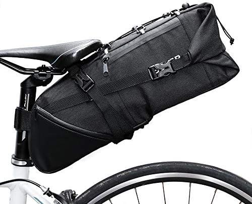 自転車用サドルバッグ 自転車サドルバッグ - マウンテンバイクMTB自転車シートパッケージの下の防水自転車テールバッグ自転車 MBTまたはロードバイクシート用