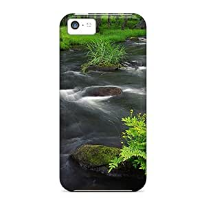CalvinDoucet Cases Covers Protector Specially Made For Iphone 5c Forest Streamjapan