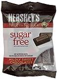 HERSHEY'S SPECIAL DARK Chocolate Bars, Mildly Sweet Dark Chocolate, Sugar Free, 3 Ounce Bag (Pack of 12)