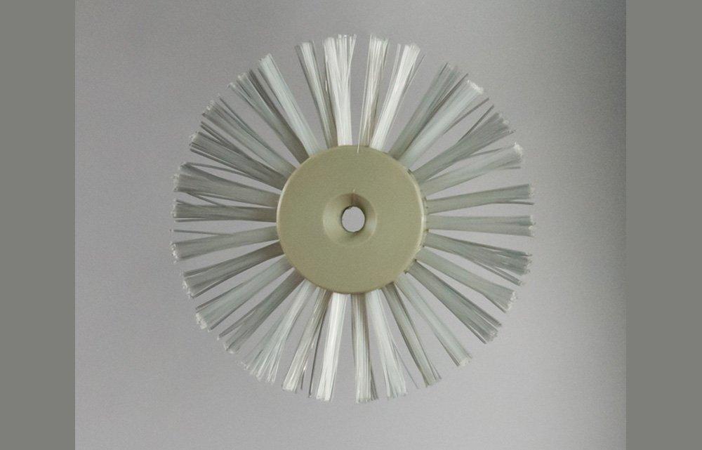 Anello in nylon a due ranghi, di ricambio per pulizia canna fumaria, diametro 200 mm, diametro foro 10 mm EMILIANA SCOVOLI