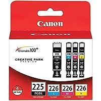 - (PGI-225, CLI226) iP4820, MG5220, MG5120, MG6120, MG8120, MX882, MX892, iX6520, iP4920, MG5320 Photo Color Ink Tank Multipack (Includes 1 Each of OEM# 4530B001, 4547B001, 4548B001, 4549B001)