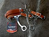 Horse Leather Hackamore English Western Bridle Bit