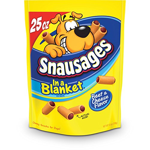 Snausages Blanket Treats Cheese Flavor product image