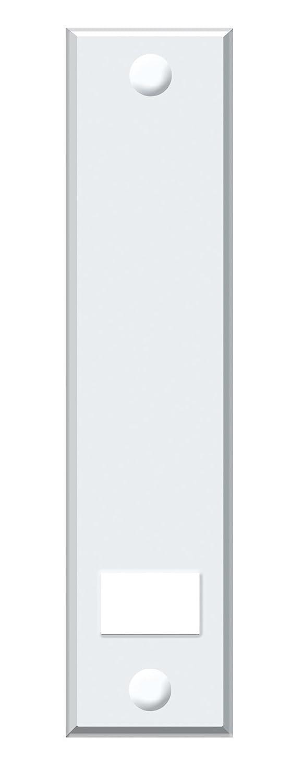 Schellenberg 53003 Plaque de Protection MAXI - Ecartement des Trous 16cm blanc