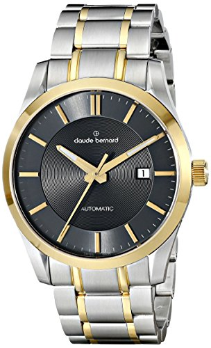 Claude Bernard Men's 80093 357J GID2 Classic Automatic Analog Display Swiss Automatic Two Tone Watch