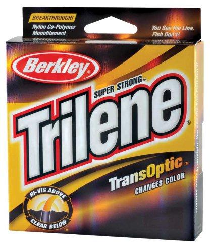 Berkley Trilene Transoptic Monofilament 220 Yd Spool(12-Pound,Clear/Gold) ()