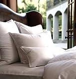 Cloud Nine Comforts Super Nova Hungarian White Goose Down Pillow, Queen