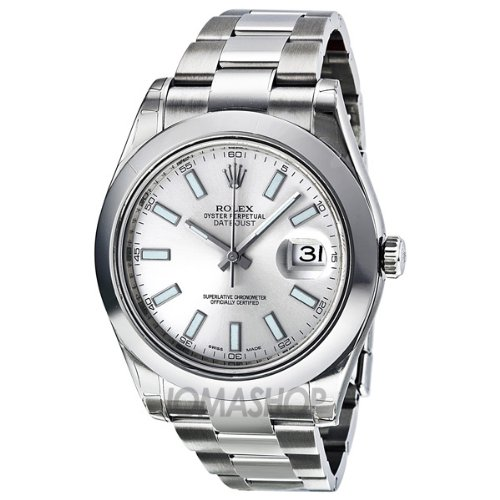 Rolex Datejust II Automatic Silver Dial Stainless Steel Mens Watch (Rolex Datejust)