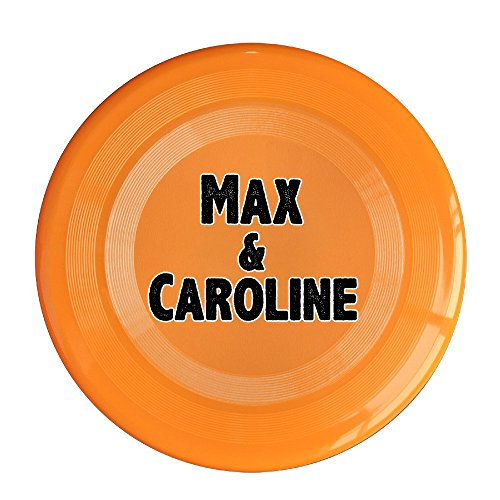 VOLTE Max&Caroline Orange Flying-discs 150 Grams Outdoor Activities Frisbee Star Concert Dog Pet - Gift Card Michael Balance