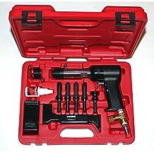 Boulderfly Deluxe 737 Red Box 4X Rivet Gun and Bucking Bars Kit