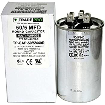 51SAz9xjI8L._SL500_AC_SS350_ amazon com packard trcfd555 55 5mfd 440 370v round capacitor  at panicattacktreatment.co