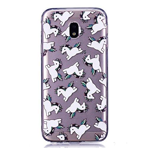 2 Samsung pour Choc Silicone 10 Gel Galaxy Rayures J3 2017 J3 Coque Protection Anti de Motif Lomogo J330 LOYXI25004 2017 Coque Galaxy Housse Anti Souple Transparente Samsung avec wOpqF1FR