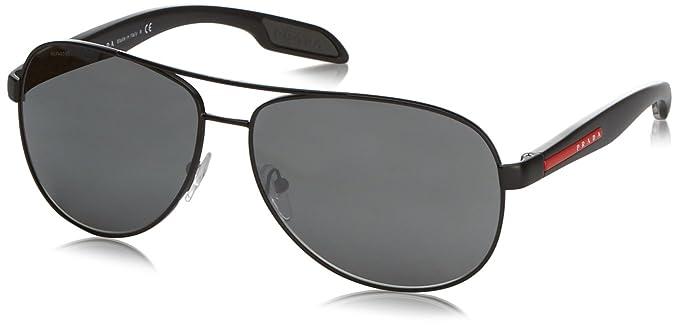 Prada Sport - Gafas de sol Aviador Mod. 53Ps Sole para hombre ... a2572ab34edc