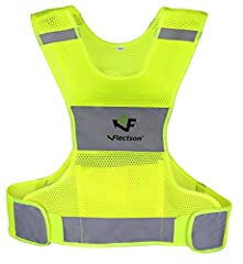 STAY SAFE WITH THE FLECTSON REFLECTIVE VEST!Are you anxious to stay visible while running, jogging or biking?Are you in search of a safety vest that doesn't compromise comfort?Then look no further; the Flectson Reflective Vest is exactly what...