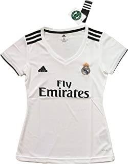 Simeonka-Hrisy Womens 2018-2019 Real Madrid Home Soccer Jersey White