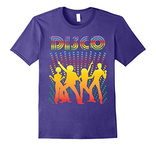 Mens Disco T-Shirt - Vintage Style Dancing Retro Disco Shirt XL (Disco Shirts Mens)