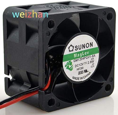 for SUNON GM1204PQV1-8A 4028 12V 2.8W 4 cm Cooling Fan