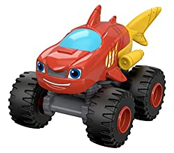 Fisher-price Nickelodeon Blaze & The Monster Machines Shark Blaze Vehicle