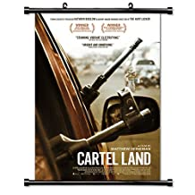 Cartel Land Movie Wall Scroll Poster (32x47) Inches