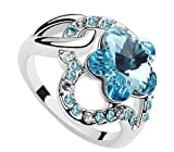 Mondaynoon-Womens-Swarovski-Elements-Austrian-Crystal-Rings-MeaningLove-Plum-Size7-8ColorSea-Blue