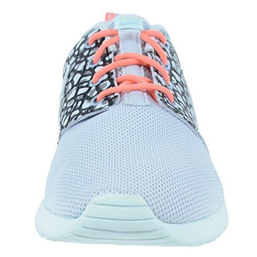 Nike Roshe En Præmie Kvinders Sneakers Rent Platin / Sort / Glasfiber / Hvid PUN8f