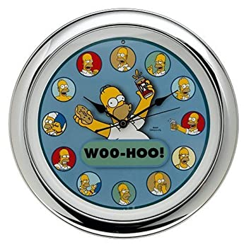 The Simpsons Homer Talking Wall Clock