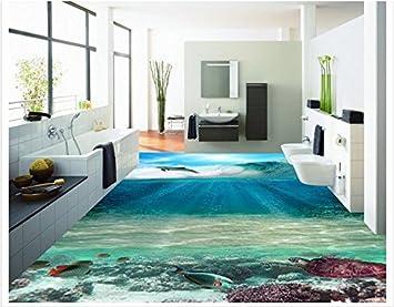 3d Pvc Fußboden ~ Lqwx maßgeschneiderte d wallpaper d pvc boden malerei wandbilder