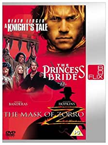 Amazon.com: A Knights Tale / The Princess Bride / The Mask ...