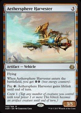 Magic: the Gathering - Aethersphere Harvester (142/184) - Aether Revolt - Foil