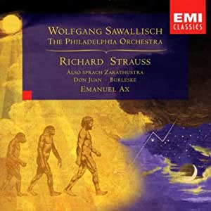 Strauss - Also sprach Zarathustra · Burleske · Don Juan / Ax · The Philadelphia Orchestra · Sawallisch