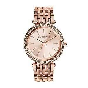 Michael Kors Darci Rose Gold Stainless Steel Watch MK3192