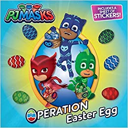 Operation Easter Egg With One Sheet of Stickers PJ Masks ...
