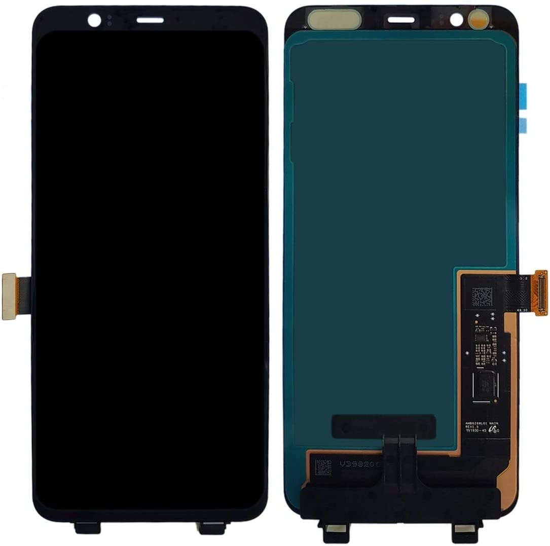 Color : Black ATDA AYSMG LCD Screen and Digitizer Full Assembly for Google Pixel 4XL Black