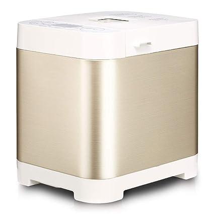 LJ-MBJ Fabricante de Pan, Casa Completamente automático Desayuno Maquina para Hacer Pan,