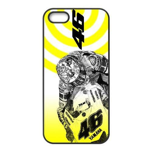 Valentino Rossi SM43HM7 coque iPhone 4 téléphone cellulaire 4S cas coque F8TT5W8MY